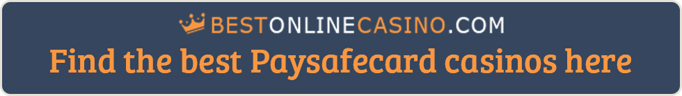 A collection of the best Paysafecard casino sites